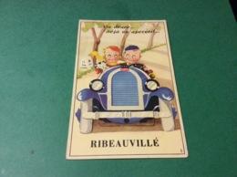 RIBEAUVILLE. Carte A Système Auto. Bugatti - Ribeauvillé