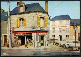 Cpsm  Guichen  Bar Tabac M. Lodého Et Hôtel Du Commerce + Ami8  Beau Plan - France