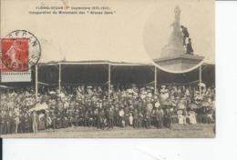FLOING SEDAN   Inauguration Du Monument Des Braves Gens1911 - Frankreich