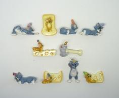 Serie Complete De 10 Feves Tom Et Jerry S Invitent A Table - Cartoons
