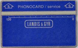 Egitto Landis & Gyr  Service Cn.606A Mint - Aegypten