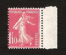 France N° 238 NSCH MNH ** Bord De Feuille Cote 25€ - 1906-38 Sower - Cameo