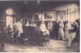 VIERZON -  Guerre 1914/1916 - Infirmerie à La Gare - Vierzon