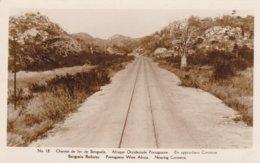 CHEMIN DE FER DE BENGUELA - AFRIQUE OCCIDENTALE PORTUGUAISE - EN APPROCHANT COROTEVA --- RARE ! - Angola
