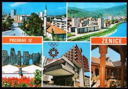 Yugoslavia Bosnia And Herzegovina Zenica / XIV Olympic Winter Games Sarajevo 1984 / Mosque, Panorama - Olympic Games