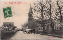 CPA Bordes 65. L'église, 1912 - Tarbes