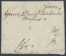 BAYERN 1750, Fuhrmannsbrief Aus LINDAU, Feinst - Duitsland