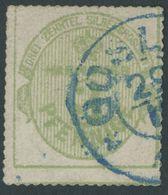 HANNOVER 21y O, 1864, 3 Pf. Olivgrün, Pracht, Gepr. Bühler Und Berger, Mi. 90.- - Hanover
