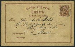 HANNOVER DR P 3F BRIEF, OTTERSBERG Auf 1/2 Gr. Ganzsachenkarte, Frageteil, Feinst - Hanover