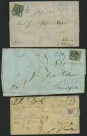 HANNOVER Brief,BrfStk , Kleines Interessantes Lot Von 14 Belegen Und 3 Briefstücken, Etwas Unterschiedlich, Besichtigen! - Hanover