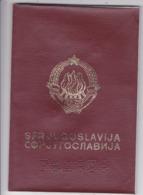 SFR YUGOSLAVIA   ---  PASSPORT  --  YOUNG MAN  --   1991 - Historische Dokumente