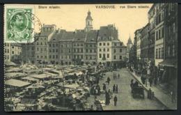 Varsovie - Rue Stare Miasto - Viaggiata 1913 - Rif. 04531 - Pologne