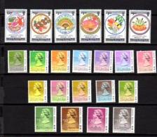 Hong-Kong, 1990, Cuisine Typique, Reine Elisabeth II, 594 / 599 - 600 / 615**, Cote 75 €, - Nuevos