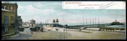 Scheveningen - Wandelhoofd - Koningin Wilhelmina - Formato Doppio - Viaggiata 1903 - Rif. 06936 - Scheveningen