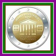 Estland 2019 2 EURO COIN University Of Tartu UNZ - Estonie