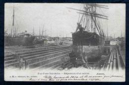 Anvers -Vue D'une Cale Seche - Reparation D'un Navire - Viaggiata - Rif. 04445 - Belgio