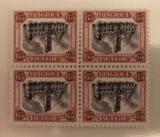 BELGIUM : 182  :  OMGEKEERDE DENDERMONDE  RENVERSE Blok V.4 ( Qualitatief Goede Replica) - Belgium