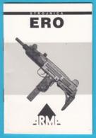 """Croatian Submachine Gun Type """"ERO"""" - Copy Of The UZI (Israel) * MINT * Mitraillette Maschinenpistole Mitragliatrice - Libri, Riviste & Cataloghi"""