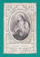 Sainte Rosalie, Santa Rosalia, Canivet N° 105, Scotch Au Dos - Images Religieuses