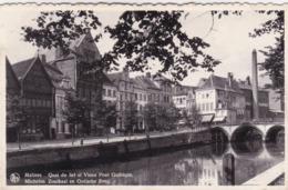Mechelen, Zoutkaai En Gotische Brug (pk64192) - Malines