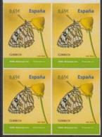 España 2011 Edifil 4623 Sellos ** B4 Fauna Mariposa Butterfly Melanargia Ines Spanish Marbled White 0,65€ Spain Stamps - 1931-Hoy: 2ª República - ... Juan Carlos I