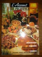 L'Accent De Provence N°26: Décembre-Janvier 1996 - Tourism & Regions