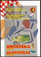 Croatia Zagreb 1995 / UEFA EURO 96 / Croatia - Slovenia / Soccer, Football - Championnat D'Europe (UEFA)