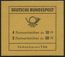 MARKENHEFTCHEN MH 16b **, 1972, Markenheftchen Unfallverhütung, Deckel D, Postgebühren Stand 1.7.1972, Pracht, Mi. 75.- - Markenheftchen