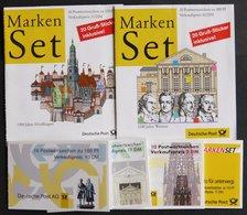 MARKENHEFTCHEN MH 34-39 **, 1996-99, 6 Markenheftchen Komplett, Pracht, Mi. 77.- - Markenheftchen