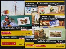 MARKENHEFTCHEN MH 53-60 **, 2004/5, 8 Markenheftchen Komplett, Pracht, Mi. 196.- - Markenheftchen