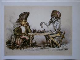 CHESS PC - Postcard  A.Paul Weber -  Napoleon - Echecs