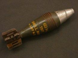 Munition De Mortier 60mm M49A2 US WW2 - Decorative Weapons