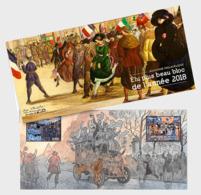 France 2019 - Le Plus Belle Bloc De 2018 - Paquet De Présentation - Rotes Kreuz