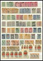 SAMMLUNGEN Aus 20-137 O,*,** , 1885-1929, Kleine, Meist Gestempelte Partie Mit Guten Mittleren Werten, Etwas Unterschied - Finland