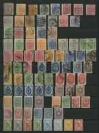 SAMMLUNGEN O,* , Alter Sammlungsteil Bis 1927 Auf Einsteckseiten, Einige Gute Mittlere Werte, Insgesamt 230 Marken, Meis - Finland