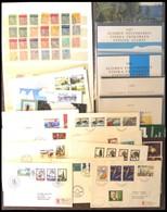 SAMMLUNGEN **,Brief,o , 1967-81, 5 Verschiedene Jahressets Von 1979/80 Und 1986-88, Dazu Ein Paar FDC`s, Maximumkarten E - Finland