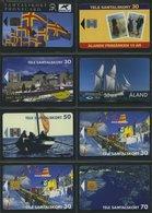 ALANDINSELN 1993-2004, 13 Verschiedene Telefonkarten, Ungebraucht, Pracht - Aland