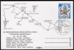 Croatia Zagreb 1993 / 25th International Cycling Race Podravska Magistrala / Start - Radsport