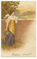 297 - Jeune Dame 'une Autre époque - Donne