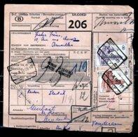 Vrachtbrief Met Stempel Oostende N°17 - 1952-....