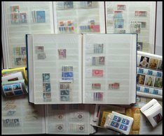 SAMMLUNGEN, LOTS O, **, Saubere Umfangreiche Händlerpartie Rumänien Von 1964-90 In 5 Dicken Einsteckbüchern, Fast Nur Ko - 1948-.... Republiken