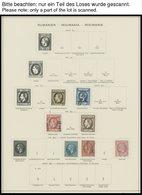 SAMMLUNGEN, LOTS O,* , Sammlung Rumänien Im Schaubekalbum Von 1865-1940 Und Von 1952-58, Dabei Gute Ungebrauchte Ausgabe - 1948-.... Republiken