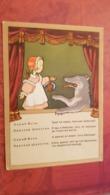 WOLF  -  LITTLE RED RIDING HOOD - Old USSR Postcard - 1957 - Vertellingen, Fabels & Legenden