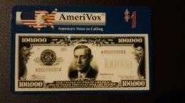 USA - AMERIVOX - BANKNOTE - NEW - Ohne Zuordnung