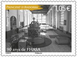 French Andorra 2019 - 90 Ans De FHASA Mnh - French Andorra