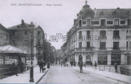 CPA  Montbéliard  Rue Cuvier - Montbéliard