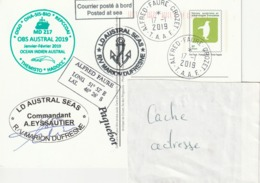 13160  PAP - MARION DUFRESNE - ALFRED FAURE - CROZET -  2019 - Entiers Postaux