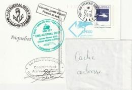 13163  PAP - MARION DUFRESNE - PORT Aux FRANÇAIS - KERGUELEN -  2019 - Enteros Postales
