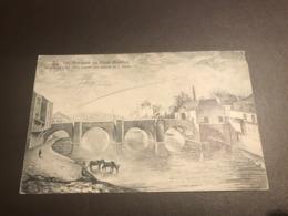 Bouillon - Les Remparts Du Vieux Bouillon, Le Pont De Liège, D'après Une Gravure De J.Dauby, éd Stroobant  - Voyagé 1912 - Bouillon