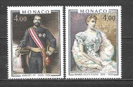 1980 -  N. 1245/46** (CATALOGO UNIFICATO) - Mónaco